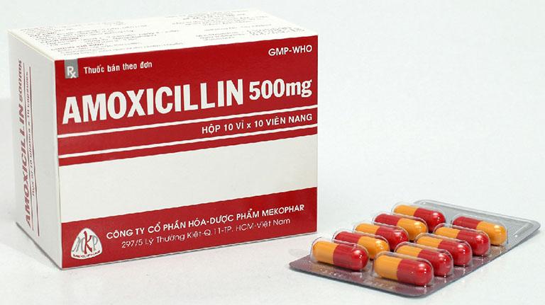 Amoxicillin giúp điều trị viêm xoang trán hiệu quả và an toàn