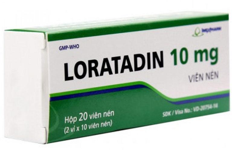 Thuốc giúp ngăn chặn giải phóng histamin và giảm những triệu chứng của bệnh viêm xoang trán nhanh chóng