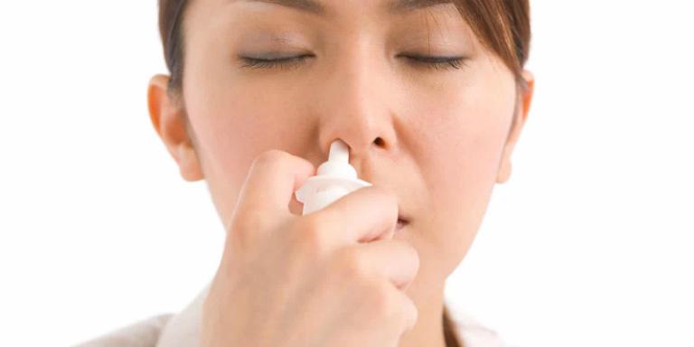 Thuốc xịt mũi có tác dụng thông xoang