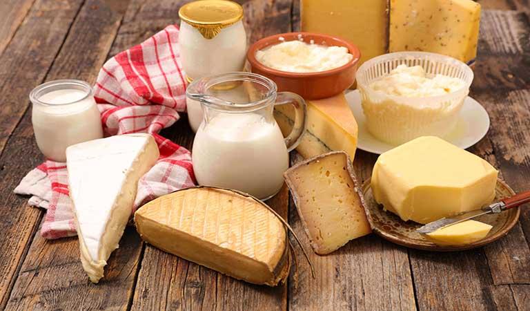Các chế phẩm từ sữa là lời giải cho câu hỏi viêm xoang cấp kiêng ăn gì