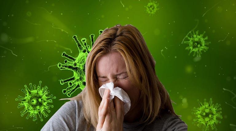 Vi khuẩn là nguyên nhân chủ yếu gây viêm xoang sàng cấp