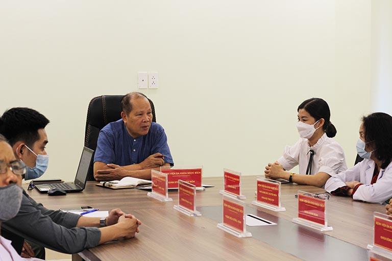 Lễ ký kết giữa Tổ hợp y tế cổ truyền biện chứng Quân Dân 102 và Bệnh viện Đa khoa Ngọc Bích