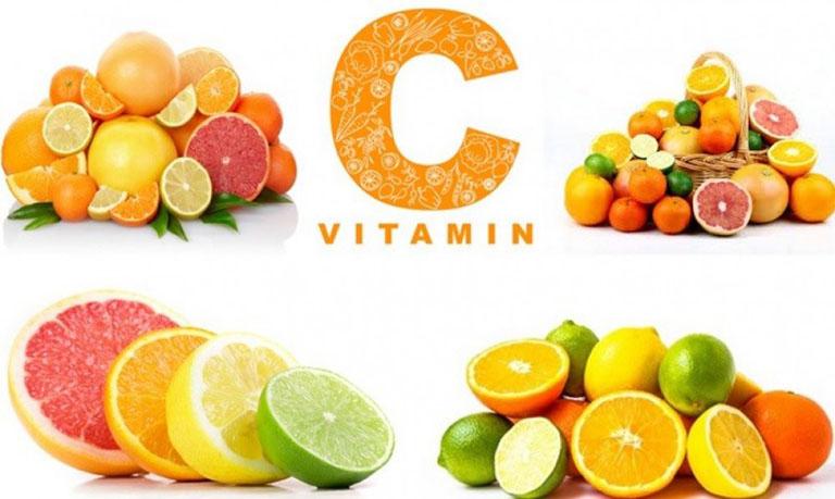 Rau củ quả giàu vitamin C giúp giảm các triệu chứng của viêm xoang mãn tính
