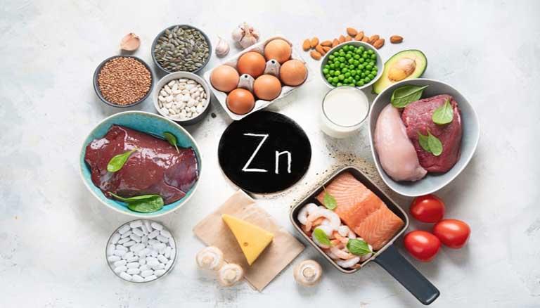 Kẽm là dưỡng chất không thể thiếu khi bạn không biết viêm xoang mãn tính nên ăn gì