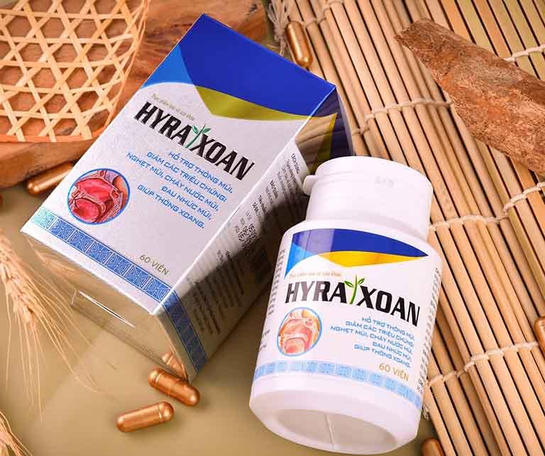Viêm xoang mãn tính uống thuốc gì? Bạn có thể điều trị bằng Hyra Xoan