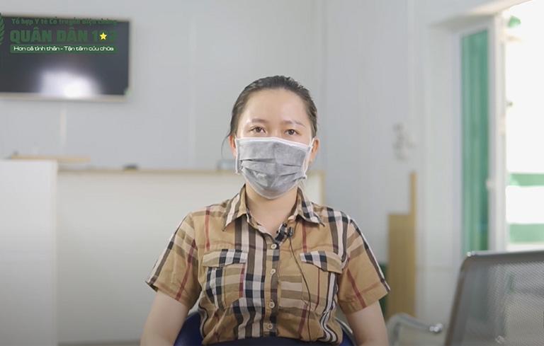 Chị Nguyễn Thu Hồng chữa viêm xoang mãn 3 năm thành công